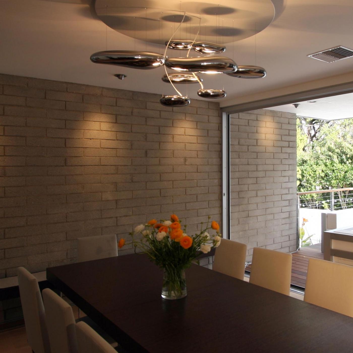 Artemide lampadario mercury la collezione for Lampadario da soffitto