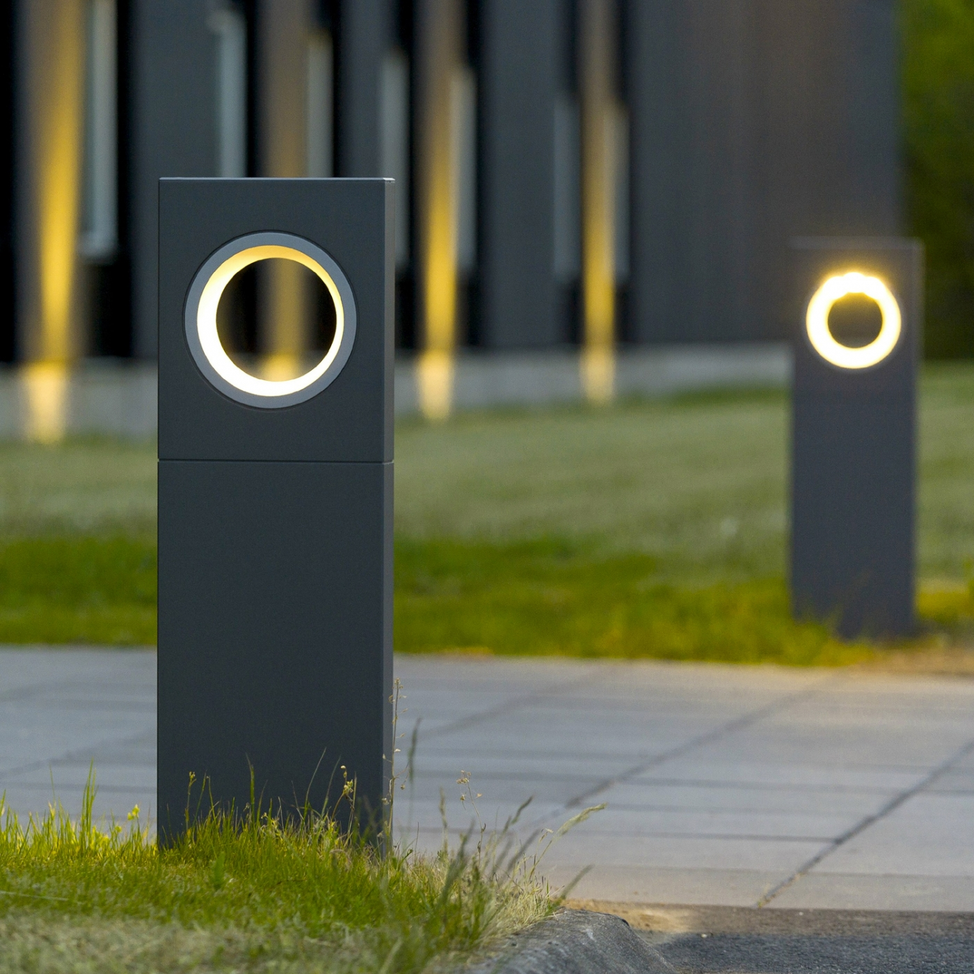 Moon paletto platek light s r l lampade da esterno - Lampade da giardino da terra ...